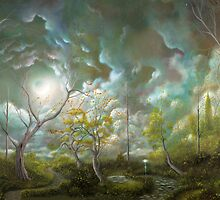 (Love is in the air) By fantasy landscape artist Philippe Fernandez by Philippe Fernandez