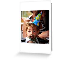 """""""It's My Party !!!"""" Greeting Card"""