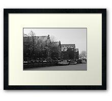 Frozen Town Framed Print