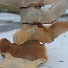 Whale bones on snow 2 by Porridgewog32