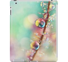 Rainbow Smoke Drops iPad Case/Skin