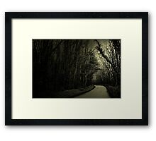 what have you learned today?... Framed Print