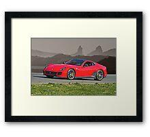 2011 Ferrari Novitec 599 GTO Framed Print