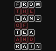 From The Land of Tea and Rain Logo - Dark variant by From The Land of Tea and Rain