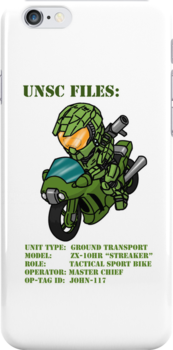 Halo iPhone Case Spartan Rider by NeoTactical