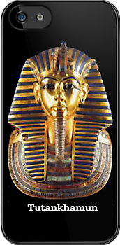 Tutankhamun iPhone Case by Catherine Hamilton-Veal  ©