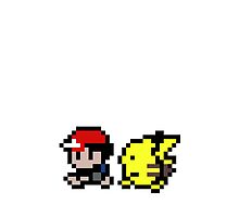 Ash and Pikachu by Milo GraphicDesign