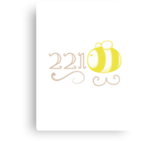 221Bee Metal Print