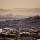 Stormy sea by eddiechui