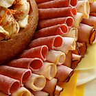 Cold Cuts Catering Tray by Jay Gross