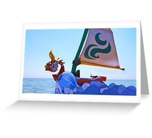 King of Red Lions Greeting Card