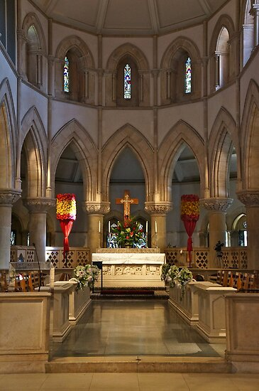 Chancel and Altar by David Davies
