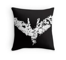 Batman 'Chalk Bat Signal' from The Dark Knight Rises Throw Pillow