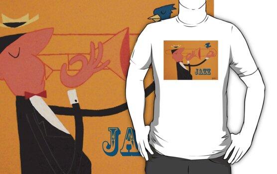 Trombone Jazz by thehealypress