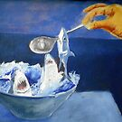 bowl of sharks by Graham Dean