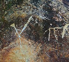 Hawaiian petroglyph by raymona pooler