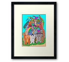 The Fauna Castle Framed Print