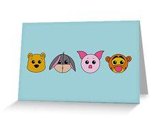 Winnie dolls Greeting Card