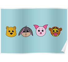 Winnie dolls Poster