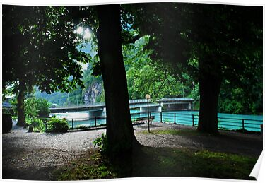 Aare River, Interlaken, Switzerland by AlisonOneL