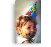 """Little Comic Clown..."" Canvas Print"