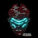 Isaac Clarke Badass Helmet 1 - (iPad) by Adam Angold