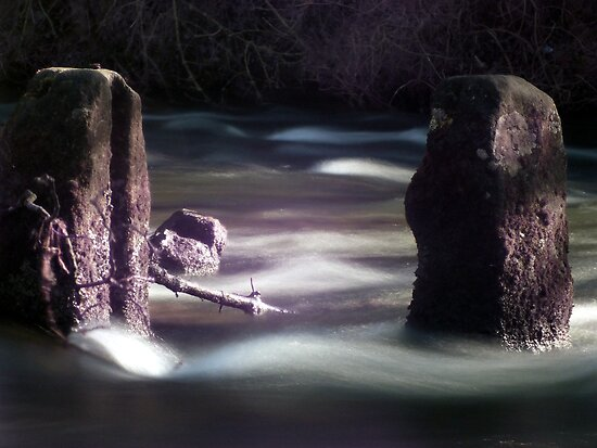 River Dove at Milldale by Paul  Green