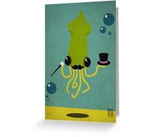 Sir Squidinton Greeting Card