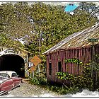 BACK IN TIME  old cars old barns old bridges by Randy & Kay Branham