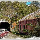 BACK IN TIME  old cars old barns old bridges by Randy & Kay Branham