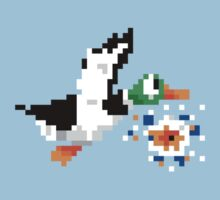 8-Bit Nintendo Duck Hunt 'Miss' Kids Clothes