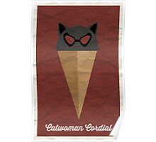 Catwoman Cordial Poster
