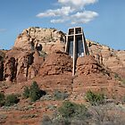 Chapel of the Holy Cross, Sedona, Arizona by Gordon  Beck