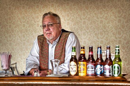 The Bartender by Jane Brack