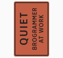 Brogrammer At Work (Large) by csyz ★ $1.49 stickers