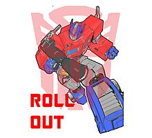 Optimus Prime - Roll Out Photographic Print