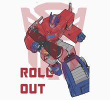 Optimus Prime - Roll Out by sjanssen