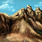 Road to Pale Mountain by satur9