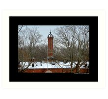 Nikola Tesla's Wardenclyffe Laboratory Building - Shoreham, New York Art Print