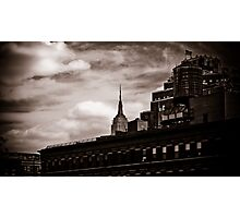 Empire State Peek-a-boo Photographic Print