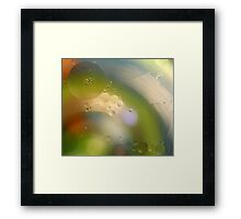 Oil in water #8 Framed Print