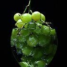 A glass of grapes by Dipali S