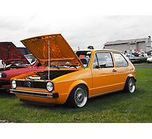 VW GOLF Photographic Print