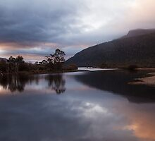 Sunrise - Narcissis River OverlandTarck by Ron Finkel