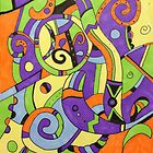 Colorfully abstract by Ashli Amabile