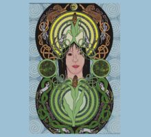 Celtic Corn Goddess by ingridthecrafty