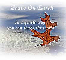 Peace on earth. by Dipali S