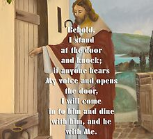 I stand at the door and knock-Rev. 3:20 by vigor