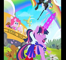 Crossovers are Magic Phone Cover by AlyseZee