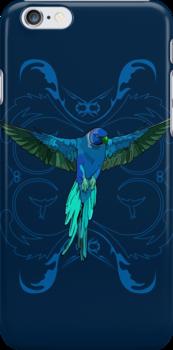 The Blue Parrot by Adamzworld